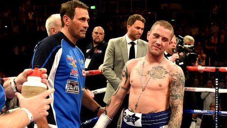 Ricky Burns suffers defeat