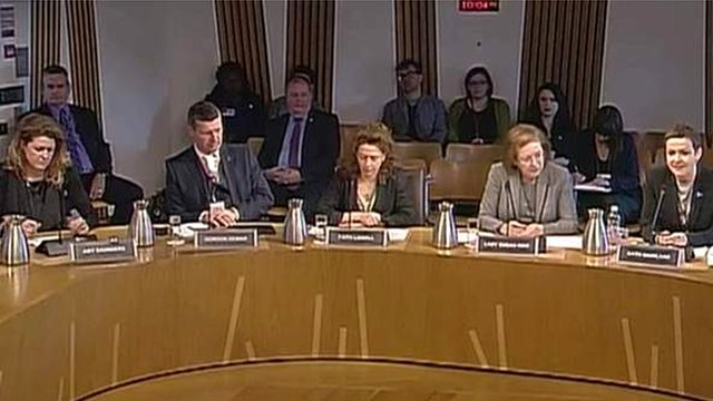 Witnesses appear before the Economy Committee