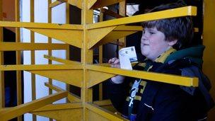 Football turnstiles