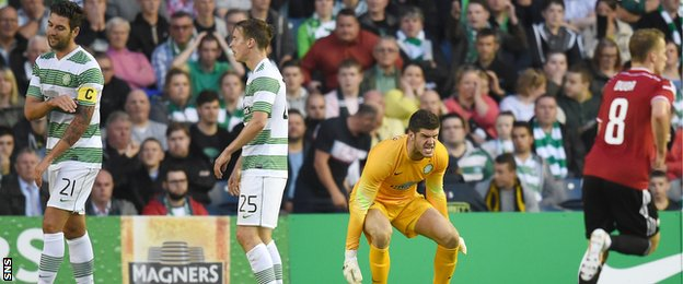 Celtic were well beaten by Legia Warsaw before being handed a reprieve