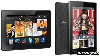 Amazon HDX and Kobo Arc 7HD