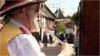 Morris dancer musician