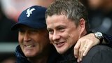 Tony Pulis and Ole Gunnar Solskjaer