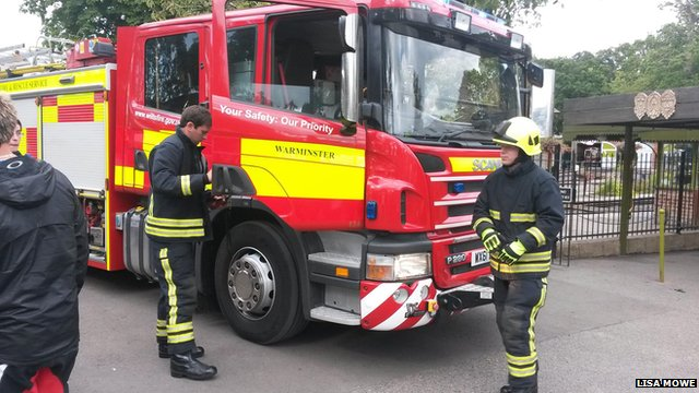 Wiltshire Fire and Rescue Service attended the incident