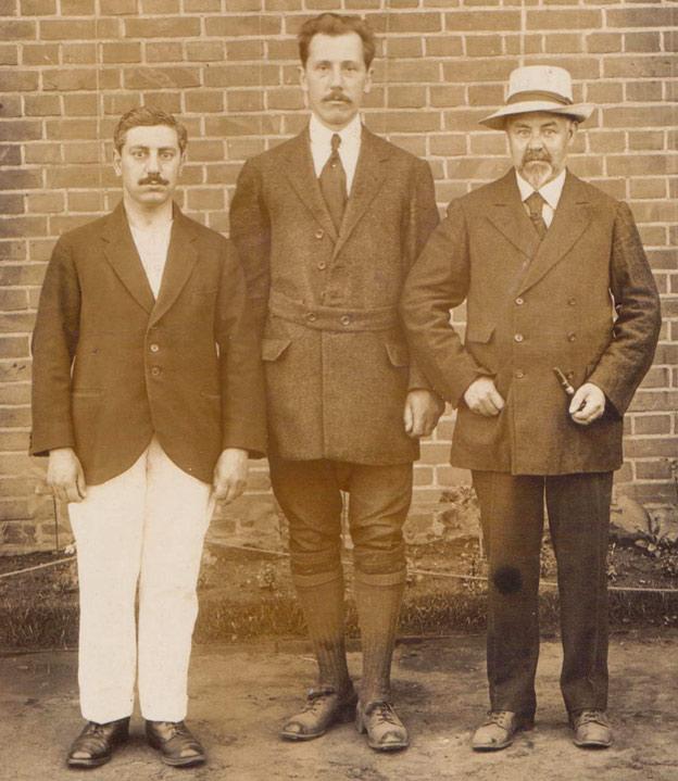 Alexander Ashwell and companions