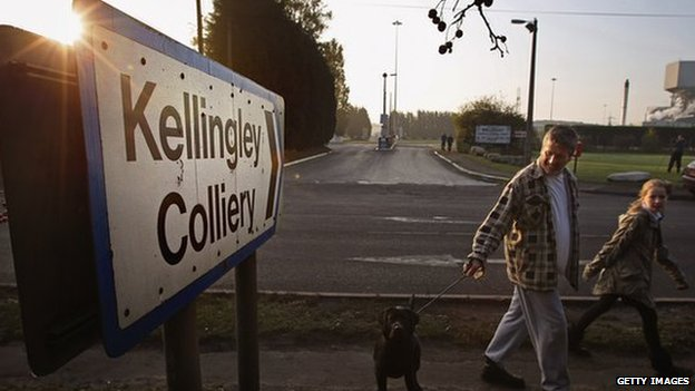 Kellingley Colliery entrance