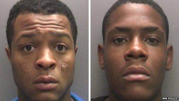 Wolverhampton suspects