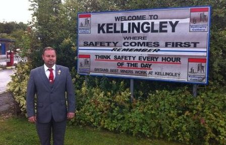 Chris Kitchen at Kellingley
