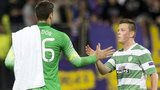 Craig Gordon and goalscorer Callum McGregor