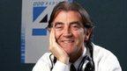 Picture shows radio presenter Gerry Anderson.