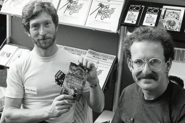 Steve Jackson (left) and Ian Livingstone