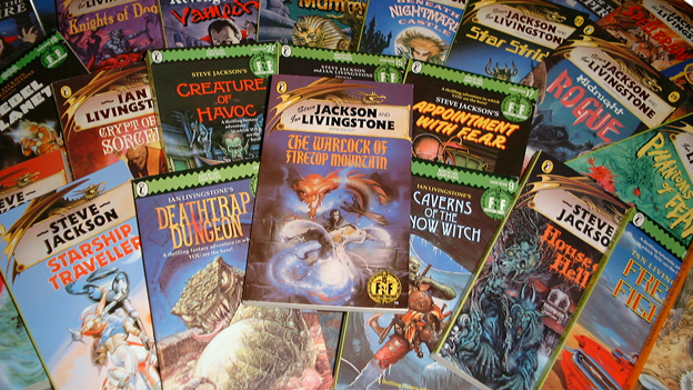 Collection of Fighting Fantasy books