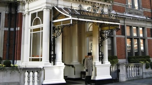 The Connaught Hotel, Carlos Place, London