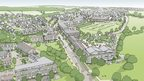 Artist's impression of Graven Hill development