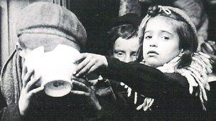 Belgian refugees in Folkestone in 1914