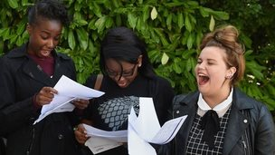Exam results 2014