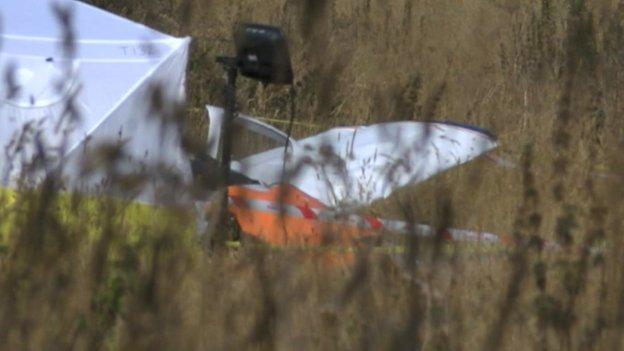 Padbury Aircraft crash