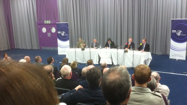 Radio Scotland debate