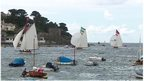 Action on the water in Fowey