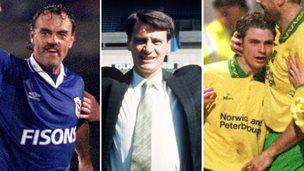 John Wark, Bobby Robson, Jamie Cureton