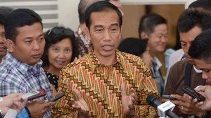 File photo: Indonesian President-elect Joko Widodo in Jakarta, 12 August  2014