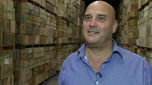 Richard Clothier of Wyke Farms in Bruton