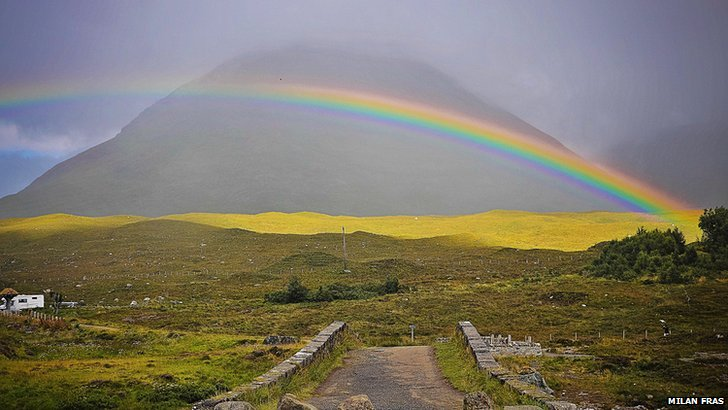 Rainbow over Sligachan