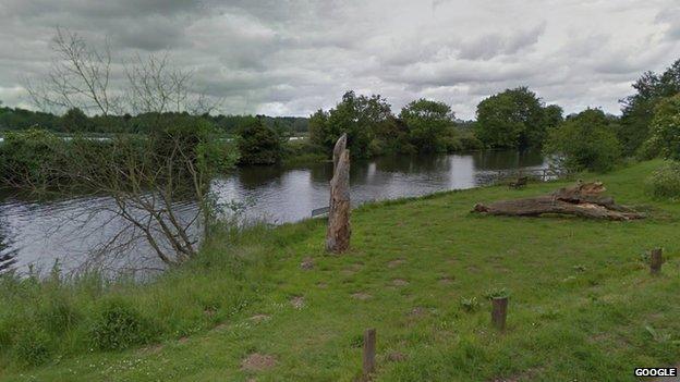 River Yare, Whitlingham side