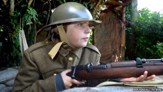 Genuine 1914 rifle