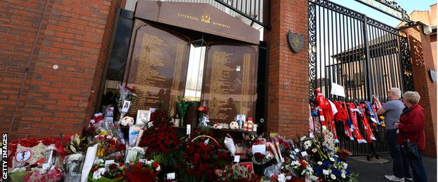 Hillsborough disaster in 1989, in which 96 Liverpool fans lost their lives
