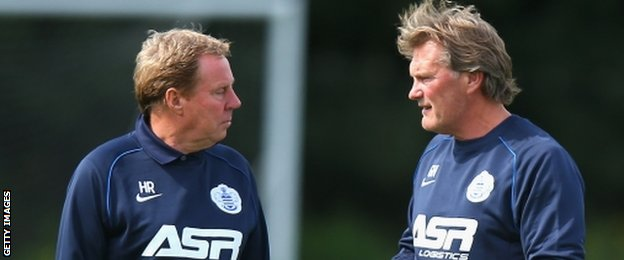 QPR boss Harry Redknapp has another former Spurs boss, Glenn Hoddle, on his coaching staff