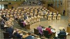 MSPs debate 'Scotland's Future'