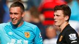 Andrew Robertson made his debut for Hull against QPR on Saturday