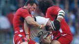 Sam Warburton and Adam Jones
