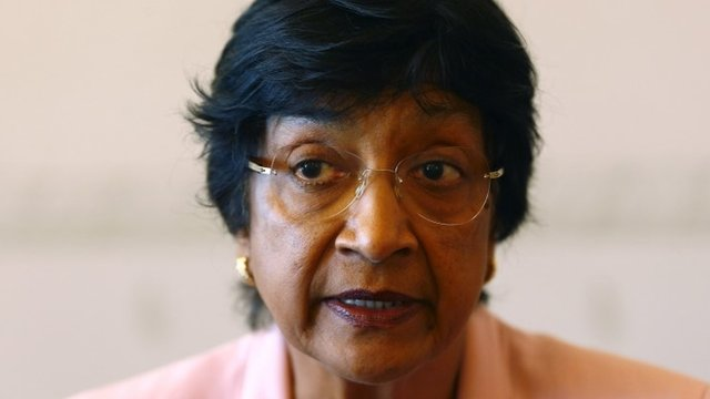 Navi Pillay: National interests have taken precedence over human suffering