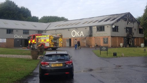 The Oka store at Froxfield