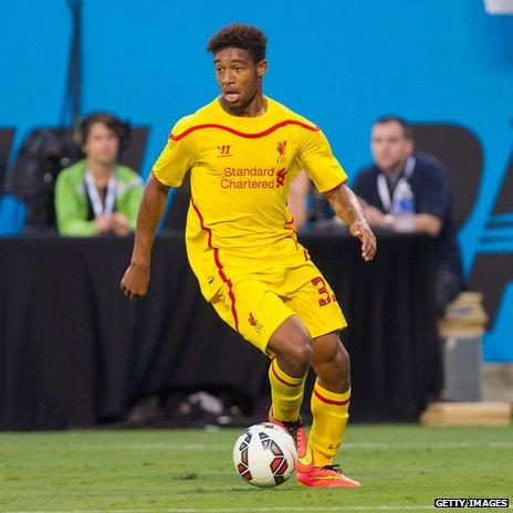 Liverpool winger Jordan Ibe