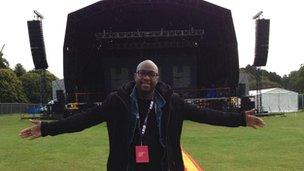 Yaw  Owusu LIMF music curator