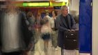 Passengers at Luton Airport