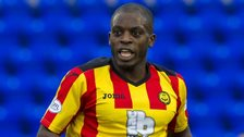 Isaac Osbourne in action for Partick Thistle