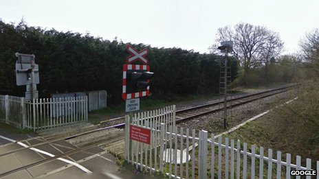Bicester level crossing