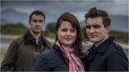 Alasdair MacAoidh, Debbie NicAoidh agus Dòmhnall Eoin MacFhionghain