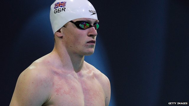 Swimmer Adam Peaty