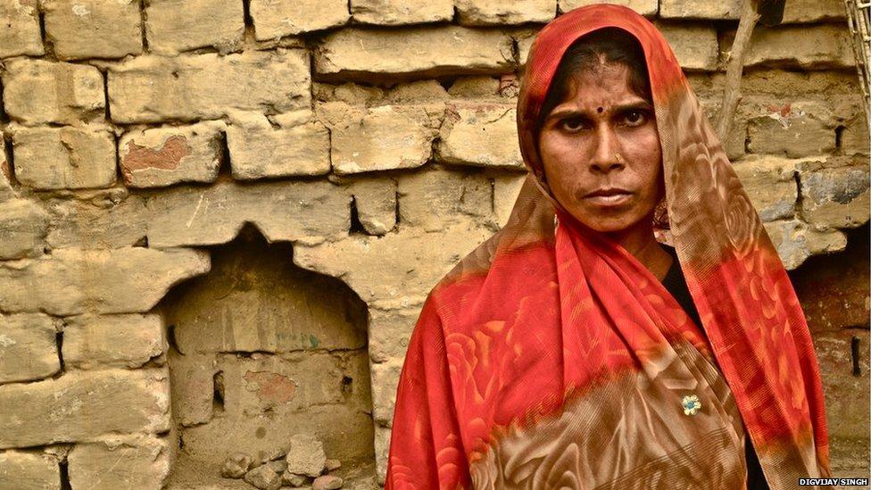 Manisha, Mainpuri district, Uttar Pradesh, January 2014