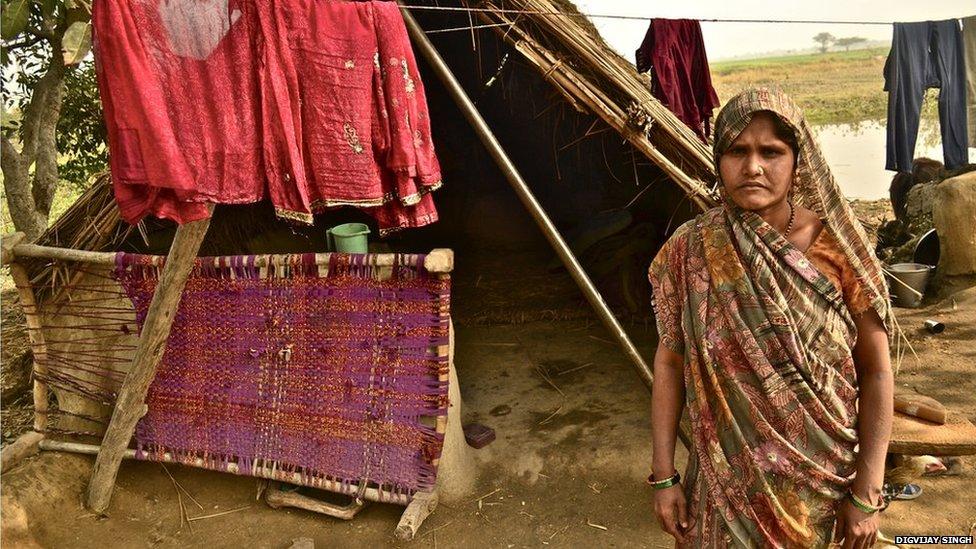 Munnidevi, Etah district, Uttar Pradesh, January 2014