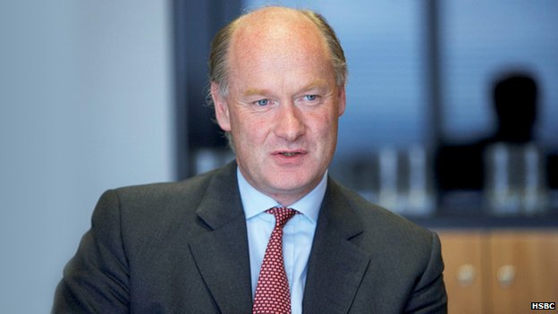 Douglas Flint of HSBC plc
