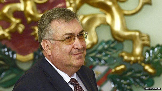 Bulgaria's interim prime minister, Georgy Bliznashki