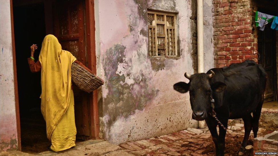 A woman in Kasela village
