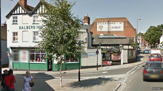 PJ McGinty's pub, Ipswich