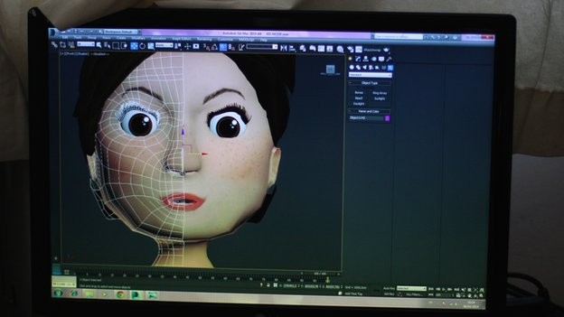 One of Digitalmania's new characters in development